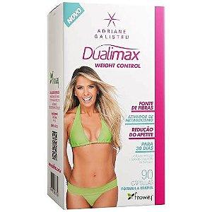 Dualimax Weight Control 90caps Fitoway Emagrecedor Psyllium