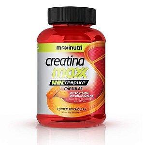 Creatina Maxx Creapure - 120 Cápsulas - Maxinutri