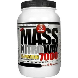 Mass Nitro Way 7000 1,5kg Midway  - Morango