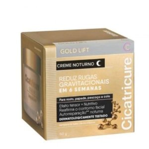Creme Cicatricure Antissinais Gold Lift Noturno 50g