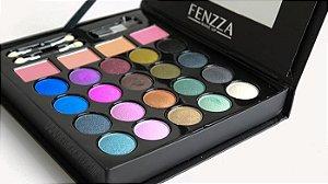 kit maquiagem make glam 3d - fenzza