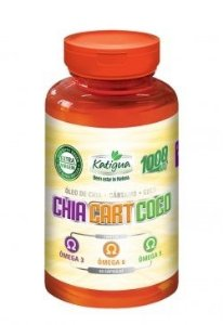 CARTAMO + COCO+ OLEO CHIA KATIGUA 1000mg  60Caps