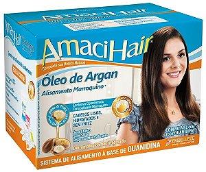 Alisante AmaciHair Kit 375gr Oleo de Argan