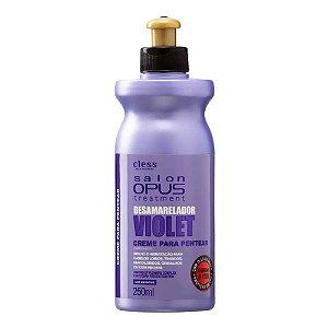 Creme p/ Pentear Desamarelador Salon Opus Violet 250ml