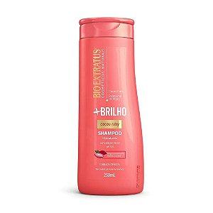 Shampoo Bio Extratus Mais Brilho Cacau Ruby 250ml