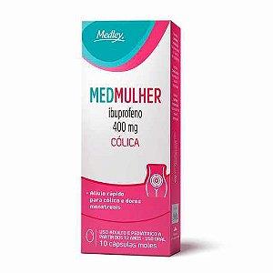 Ibuprofeno - MEDMULHER  400MG 10CAPS Moles