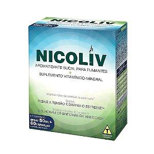 Nicoliv Spray 50ml + 60caps