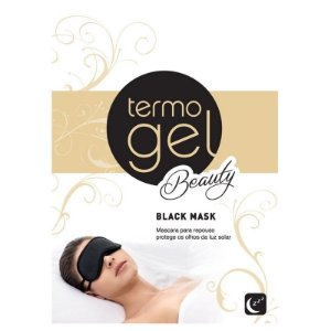 MASCARA DE DORMIR TERMOGEL BLACK MASK