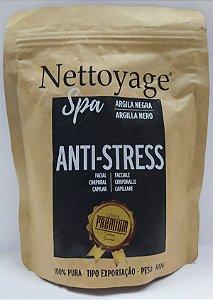 Argila Negra Anti Stress Nettoyage Spa 100% Pura 300g