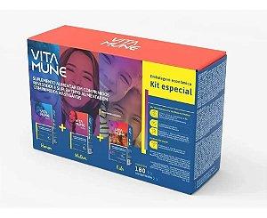 Kit Especia Vita Mune Az Homem + Mulher + Kids 180cpr Cimed