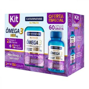 Omega 3 1000mg Catarinense Epa/Dha 300Caps