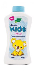 Talco Baby Kids Azul Pharma 100g