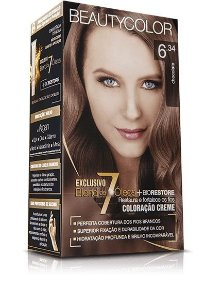 Tintura Beauty Color Kit Nova 6.34 Chocolate