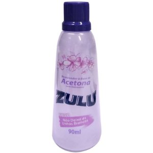 Removedor de Esmalte Zulu Seduction  90ml (Roxo)