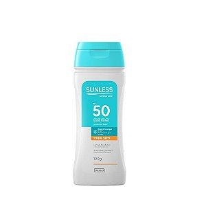 Protetor Solar Sunless FPS 50 Oil Free 120grs