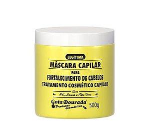 Máscara Gota Dourada Fortalecimento 500g