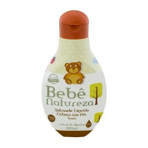 Sabonete Líquido Cabeça aos Pés Suave Bebê Natureza 400ml