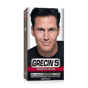 Grecin 5 Shampoo Preto (H-55) 60ml