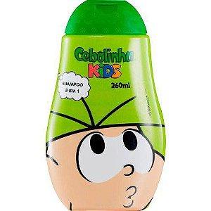 Shampoo Turma Da Monica Cebolinha 3em1 260ml