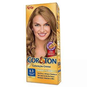 Tintura Cor&Ton 8.3 louro claro dourado