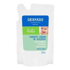 Sabonete Granado Refil Infantil Erva Doce 250ml