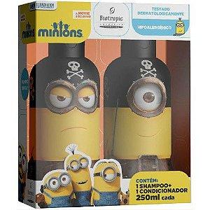 Kit Infantil Minions Shampoo+Condicionador