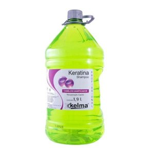 Shampoo Kelma Keratina 1,900ml - sem sal