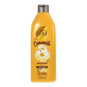 Shampoo Gota Dourada Uso Diário Camomila 340ml