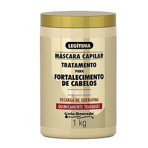 Mascara Capilar Gota Dourada 1kg Quimicamente Tratados