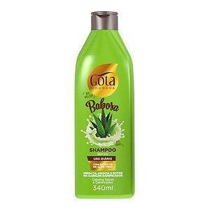 Shampoo Gota Dourada 340ml Babosa
