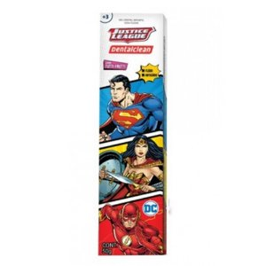 Gel Dental Infantil Dentalclean Justice League  50G