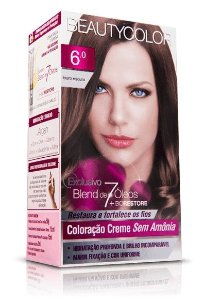 Tintura Beauty color Sem Amonia  6.0 Louro Escuro