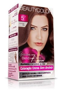Tintura Beauty Color Sem Amonia 5.7  Chocolate Café