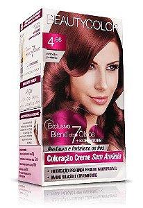 Tintura Beauty Color Sem Amonia 4.66 Vermelho Profundo