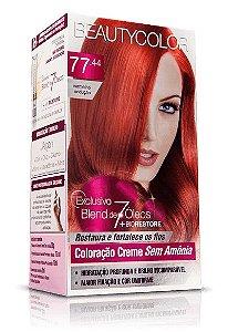 Tintura Beauty Color Sem Amônia 77.44 vermelho sedução