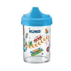 Copo Kuka Cristal  200ml  Azul Ref.6046