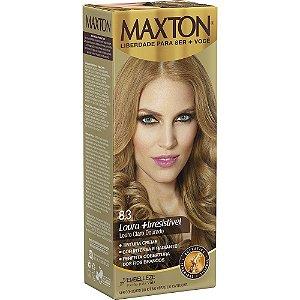 Tintura Maxton Kit 8.3 Louro Claro Dourado