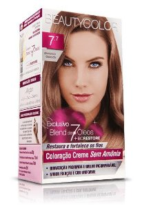 Tintura Beauty Color Sem Amônia 7.7 Chocolate Dourado