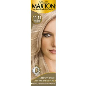 Tintura Maxton 11.11 Loura Super Claro Prata