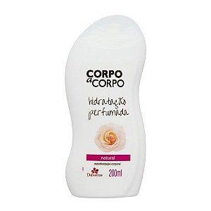 Hidratante Davene Corpo a Corpo Natural 200ml