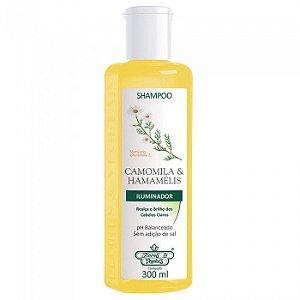 Shampoo Flores e Vegetais Camomila e Hamamelis 300ml