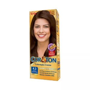 Tintura Cor&Ton 4.3 Castanho Medio Dourado