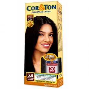 Tintura Cor&Ton 3.0 castanho escuro