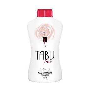 Talco Tabu Flores 100gr
