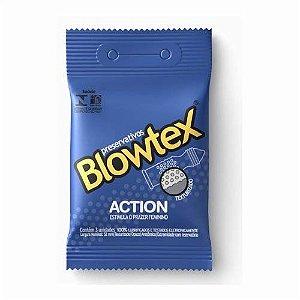 Preservativo Blowtex Action c/ 3