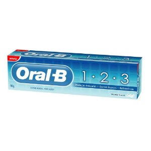 Creme Dental ORAL-B 123 Anti Caries 70gr