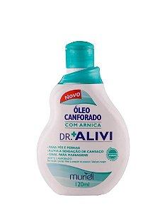 OLEO CANFORADO COM ARNICA DR.ALIVI 120ML