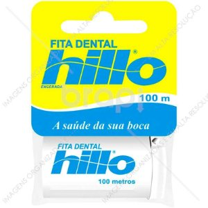 Fita Dental Encerada Hillo 100 metros