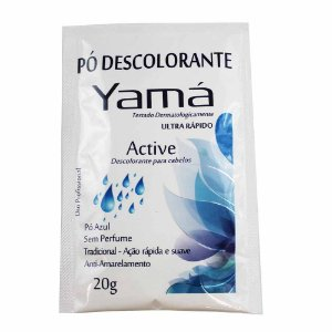 Pó Descolorante Yamá 20g Active Tradicional