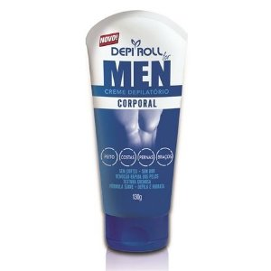 Depi Roll Creme Depilatório Corporal 130gr For Men